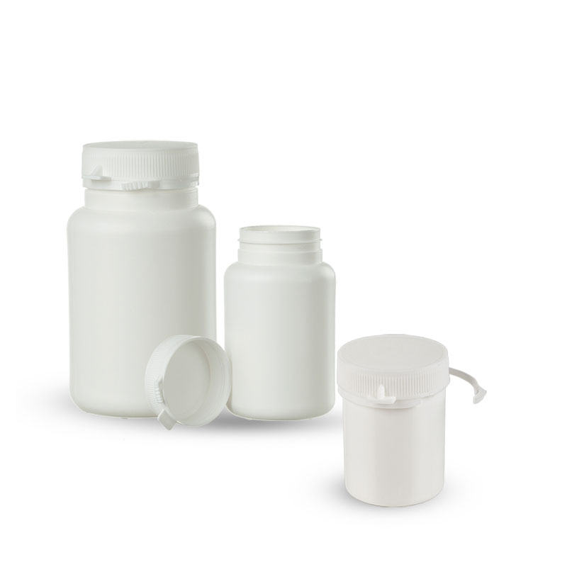 Plastic containers with tamper-evident band